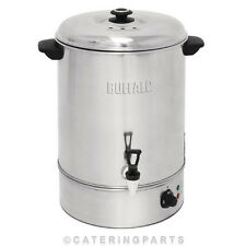 40L MANUAL FILL HOT WATER BOILER CATERING TEA URN 13A 3KW PLUG STAINLESS STEEL