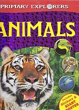 Animals - New Book includes stickers and poster