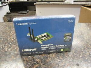 NEW Sealed box Linksys WMP110 RangePlus Wireless PCI Adapter