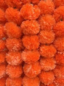 Artificial Marigold Flower Garlands Diwali Indian Wedding Decoration