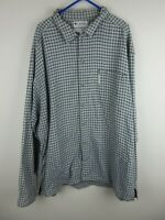 Columbia Mens Shirt Size XL Long Sleeve Button Up Regular Fit Grey Check