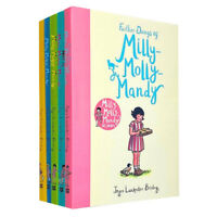 Milly Molly Mandy 5 Books Set Collection by Joyce Lankester Brisley, Childrens..