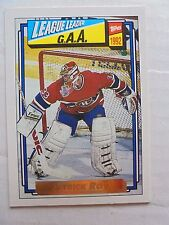 Patrick Roy 1992-93 Topps Gold #110 Hockey Card Canadiens NM/M Condition