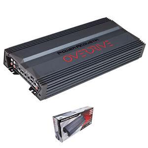 Power Acoustik Overdrive Series 3500W 5 Channel Class A/B Full Range Amplifier
