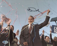 BOB DOLE SIGNED AUTOGRAPHED 8x10 PHOTO PRESIDENTIAL CANDIDATE KANSAS BECKETT BAS