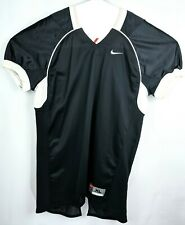 Nike Football Workout Jersey Shirt Mens Size Xl Black Short Sleeve Lacrosse Team