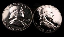 (2) 1962 Franklin Half Dollar Set/Lot - Proof - 2 Coins #101