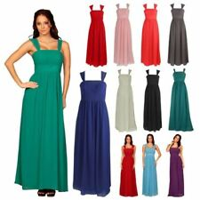 Sleeveless Chiffon Dresses for Women with Corset