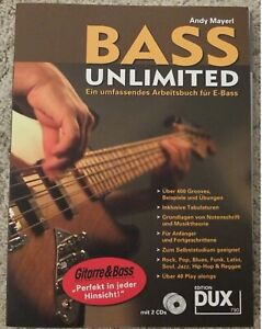 Andy Mayerl Bass Unlimited. Lehrbuch mit 2 CDs
