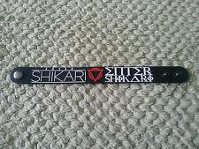 SILICONE RUBBER ROCK MUSIC FESTIVAL WRISTBAND/BRACELET:- ENTER SHIKARI
