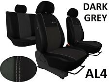 VOLVO XC60 2008 PRESENT ECO LEATHER ALCANTRA SEAT COVERS MADE TO MEASURE FOR CAR