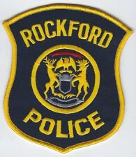 **ROCKFORD MICHIGAN POLICE PATCH**