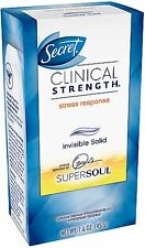 Secret Clinical Strength Invisible Solid Deodorant, Stress Response 1.60 oz