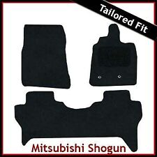 Mitsubishi Shogun Mk4 2007 onwards Fully Tailored Fitted Carpet Car Mats