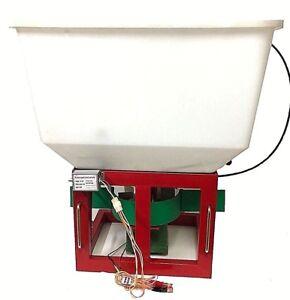 Fertilizer Spreader 12 volt tractor or ATV mount