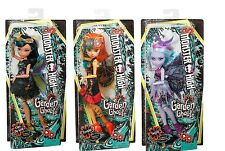 Monster High Garden Ghouls Toralei Cleo de Nile and Twyla Wings Dolls BRAND NEW