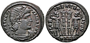 CONSTANTINE I (330-335 AD) Rare Follis. Constantinople #CA 7680