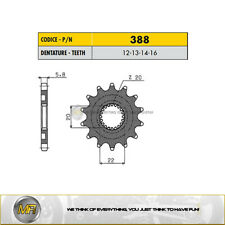 FOR YAMAHA YZ 125 FROM 2005 TO 2018 FRONT DRIVE SPROCKET SUNSTAR 520 16 TEETH