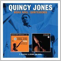 Bossa Nova / Quintessence, Quincy Jones, Audio CD, New, FREE & Fast Delivery