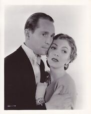 FRANCHOT TONE KAREN MORLEY Original Vintage 1933 MGM Studio Portrait Photo