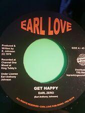 EARL ZERO  GET HAPPY / HAPPNESS 45