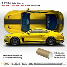 R-SPEC Style Racing Stripes Kit for Ford Mustang 2015 - 2019