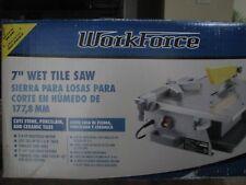 "WorkForce THD550 7"" Wet Tile Saw"
