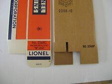 Lionel 2368 Baltimore & Ohio AB  Engine Licensed Reproduction Boxes