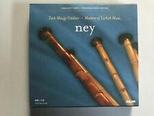 NEY-TURK MUZIGI USTALARI-MASTER OF TURKISH MUSIC-2004 - 2 CD BOX SET