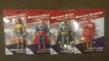 4 Four Justice League The New Frontier Bendable Action Figure NJ Croce