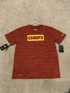 (L) Kansas City Chiefs Nike Dri-Fit Short Sleeve Tee NWT