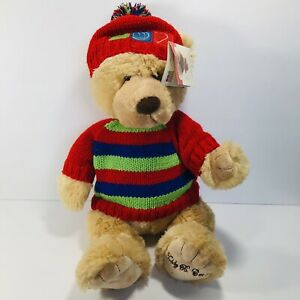 "Teddy B Caring Plush Bear 15"" Eighth In A Series Gund Office Depot"