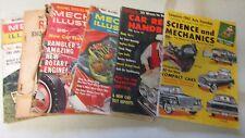 Science and Mechanics / Car Repair Handbook / Mechanix Illustrated Magazines