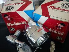 Vintage Bicycle  Light Dynamo Lighting Set -KADOMAX 6V- Made in Japan 1960 NOS