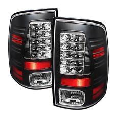 Tail Lights Dodge Ram 1500 2009-2012 Ram 2500 3500 2010-2012 LED - Black