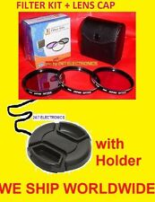 FILTER KIT +LENS CAP 58mm UV CPL FLD 58 mm -> Camera Camcorder Video & MORE