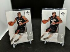 2011-12 UD SP AUTHENTIC BASKETBALL KAWHI LEONARD ROOKIE CARD #27🔥 2 card lot!🔥