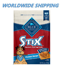 Blue Buffalo Stix Chicken Flavor Dog Treats 6 Oz WORLDWIDE SHIPPING