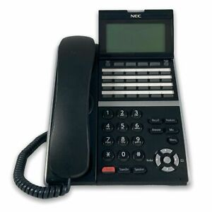 NEC SL2100 Telephone System with 8 X NEC DTZ-24D-3A(BK) Button Handsets 3M warra