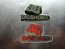 2 stickers DC shoes skate board longboard logo iPad bike mono