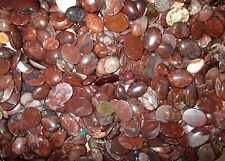 "600+ CARATS of  NATURAL ""POPPY JASPER"" cabachons from the mine in China"