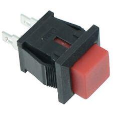 Cuadrado Rojo momentáneo OFF - (en) empuje para hacer Interruptor 1 A SPST