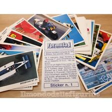 evado mancoliste figurine FORMULA 1 Edis Edizioni blu 1986 € 0,50 vedi lista