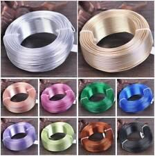 0.8mm 1mm 1.5mm 2mm 2.5mm 3mm Aludraht Aluminiumdraht Schmuckdraht Basteldraht
