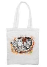 Basket of Kittens Cat Drawing  Shoulder Shopping Tote Bag