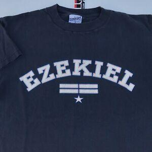 Vintage EZEKIEL T-Shirt Size M Medium 90s Skate Streetwear Made USA