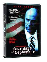 Four Days in September DVD Movie NEW FAST SHIP (VG-A004621DV / VG-178)