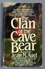 The Clan of the Cave Bear Jean M. Auel First ed. thus  Vintage Pb Neaderthals