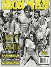 JUNE 2015 IRON MAN vintage body building magazine JEFF SEID