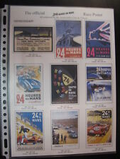 Brochure Orpheograff, The Official 24 Heures du Mans Race Poster